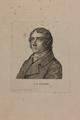 Bildnis des B. G. Niebuhr, nach 1820 (Quelle: Digitaler Portraitindex)