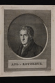 Bildnis des Aug. v. Kotzebue, Hermann Hirsch Pinhas-1809/1844 (Quelle: Digitaler Portraitindex)