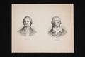 Bildnis des Johann Wolfgang von Goethe und Bildnis des Friedrich Schiller, um 1850 (Quelle: Digitaler Portraitindex)