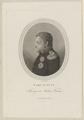 Bildnis des Carl August von Sachsen Weimar, Heinrich Joseph Mansfeld - 1800/1866 (Quelle: Digitaler Portraitindex)