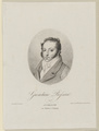 Bildnis des Gioachino Rossini, Leopold Beyer-1810/1877 (Quelle: Digitaler Portraitindex)