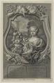 Doppelbildnis des Willem V. mit seiner Schwester Carolina Prinsesse van Oranje en Nassau, Sanders, Gerard - 1751 (Quelle: Digitaler Portraitindex)