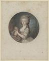 Bildnis der Marie Sophie Friederike von D�nemark, Jean Fran ois Janinet - um 1790 (Quelle: Digitaler Portraitindex)