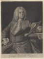 Bildnis des George Frederick Handel, John Faber - 1749 (Quelle: Digitaler Portraitindex)