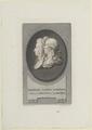 Doppelbildnis des Friderich Ludwig Schr�der und der Anna Christina Schr�der, Friedrich Specht - 1790 (Quelle: Digitaler Portraitindex)