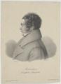 Bildnis des Christian Gottlob Rebenstein, Johann Sprick - 1833/1834 (Quelle: Digitaler Portraitindex)