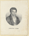 Bildnis des Ludwig Tieck, E. P nicke - um 1830 (Quelle: Digitaler Portraitindex)