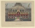 Blick auf die Inthronisation von Leopold I. von Belgien, Burggraaff (1801) - 1831/1850 (Quelle: Digitaler Portraitindex)