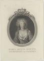 Bildnis der Maria Amallia Augusta von Sachsen, Rasp, Carl Gottlieb - 1769/1807 (Quelle: Digitaler Portraitindex)