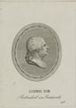 Bildnis des Ludwig XVIII. von Frankreich, Ernst Ludwig Riepenhausen (zugeschrieben) - 1814/1824 (Quelle: Digitaler Portraitindex)