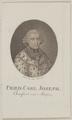 Bildnis des Fried. Carl Joseph von Maijnz, Anton Karcher-1782/1800 (Quelle: Digitaler Portraitindex)