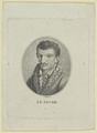 Bildnis des I. G. Seume, Johann Christian Benjamin Gottschick-1791/1844 (Quelle: Digitaler Portraitindex)