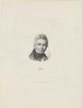 Bildnis des Schinkel, Heinrich Merz - 1839 (Quelle: Digitaler Portraitindex)