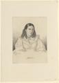 Bildnis der Bettine Brentano, Ludwig Emil Grimm - 1809 (Quelle: Digitaler Portraitindex)