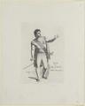 Bildnis des Flek als Graf von Leicester in Schillers Maria Stuart, Johann Friedrich Bolt - 1801 (Quelle: Digitaler Portraitindex)
