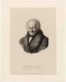 Portr�t Johann Heinrich F�ssli (1745-1832)., Johann Jakob Lips - 1833 (Quelle: Digitaler Portraitindex)