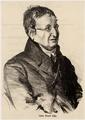 Portr�t Julius Eduard Hitzig (1780 - 1849), Adolf Friedrich Erdmann Menzel - um 1844 (Quelle: Digitaler Portraitindex)