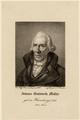 Porträt Johann Gottwerth Müller (1743 - 1828), Ferdinand Wolfgang Flachenecker-1818 (Quelle: Digitaler Portraitindex)