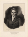 Portr�t Alois Senefelder (1771 - 1834)., Franz Seraph Hanfstaengl - 1834 (Quelle: Digitaler Portraitindex)