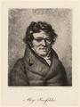 Portr�t Alois Senefelder (1771 - 1834)., Nicolas Henri Jacob - um 1830 (Quelle: Digitaler Portraitindex)