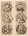 Porträttafel: Wittenberger Buchdrucker., Christian Friedrich Gessner (1701)-1740 (Quelle: Digitaler Portraitindex)