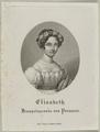Bildnis der Elisabeth von Preu�en, Friedrich Wilhelm Linger - 1825 (Quelle: Digitaler Portraitindex)