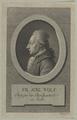 Bildnis des Friedrich August Wolf, Carl Ernst Bohn - 1792 (Quelle: Digitaler Portraitindex)