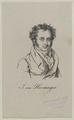 Bildnis des J. von Hormayr, um 1830 (Quelle: Digitaler Portraitindex)