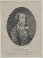 Bildnis des Friedrich Maximilan von Klinger, Johann Christoph Nabholz-um 1790 (Quelle: Digitaler Portraitindex)