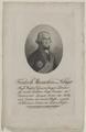 Bildnis des Friedrich Maximilan von Klinger, Johann Daniel Laurenz (1770)-um 1790 (Quelle: Digitaler Portraitindex)