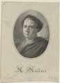 Bildnis des A. M�llner, Monogrammist J. B. - um 1800 (Quelle: Digitaler Portraitindex)
