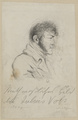 Bildnis des Julius Voss, August Hoffmann - um 1820 (Quelle: Digitaler Portraitindex)