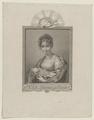 Bildnis der Friederike Antonie Sophie Schirmer, geb. Christ, Moritz Retzsch - um 1800 (Quelle: Digitaler Portraitindex)