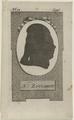 Bildnis des Franz Anton Zuccarini, um 1780 (Quelle: Digitaler Portraitindex)
