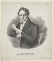 Bildnis des Adolf M�llner, Rudolf Weber - um 1850 (Quelle: Digitaler Portraitindex)