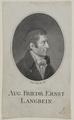 Bildnis des Aug. Friedr. Ernst Langbein, Johann Gottfried Dyck-1805 (Quelle: Digitaler Portraitindex)