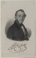 Bildnis des Ignaz Franz Castelli, Franz St ber (1795) - um 1840 (Quelle: Digitaler Portraitindex)