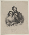 Bildnisse des Wilhelm Hensel und seiner Frau Fanny, geb. Mendelssohn-Bartholdy, Singer, Johann Paul-1801/1900 (Quelle: Digitaler Portraitindex)