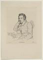 Bildnis des Heinrich Heine, Eduard Mandel - um 1850 (Quelle: Digitaler Portraitindex)