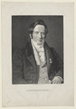 Bildnis des A. Oehlenschl�ger, Asmus Kaufmann - 1821/1890 (Quelle: Digitaler Portraitindex)