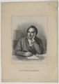 Bildnis des Adam Gottlieb Oehlenschl�ger, Emilius Ditlev Baerentzen - 1844 (Quelle: Digitaler Portraitindex)
