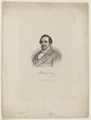 Bildnis des Adam Gottlob Oehlenschl�ger, Weger, August - um 1870 (Quelle: Digitaler Portraitindex)