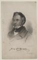 Bildnis des Franz Grillparzer, Franz St ber (1795) - 1840 (Quelle: Digitaler Portraitindex)