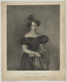 Bildnis der Großherzogin Maria Paulowna von Russland, Johann Velten-um 1850 (Quelle: Digitaler Portraitindex)