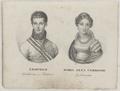 Bildnisse des Leopold Großherzog von Toscana und seiner Frau Maria Anna Caroline, Fricke, Friedrich August-um 1850 (Quelle: Digitaler Portraitindex)