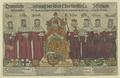 Kaiser Maximilian II. und die sieben Kurf�rsten, Bartholom us K ppeler - 1592/1600 (Quelle: Digitaler Portraitindex)