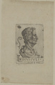 Profilbildnis des Julius Caesar, Daniel Hopfer (1) - um 1686/1700 (Quelle: Digitaler Portraitindex)