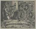 Gruppenbildnis des Theod. Beza, des Clement Marot und des Ambr. Lobwasser, 1686/1733 (Quelle: Digitaler Portraitindex)