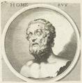 Bildnis des Homervs, Bartholom us Kilian (2) - 1675 (Quelle: Digitaler Portraitindex)