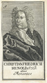 Bildnis des Christian Friedrich Hunold, 1710/1750 (Quelle: Digitaler Portraitindex)
